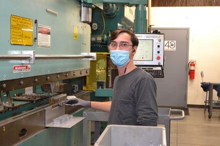 MR PDi COVID Safe Practices Masks in Plant Mark