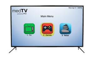 55in A-Series medtv with Stand