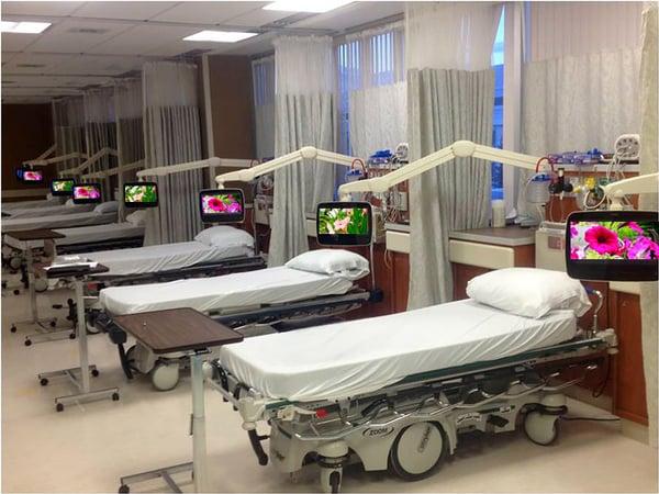 P14W TVs Heart Institute