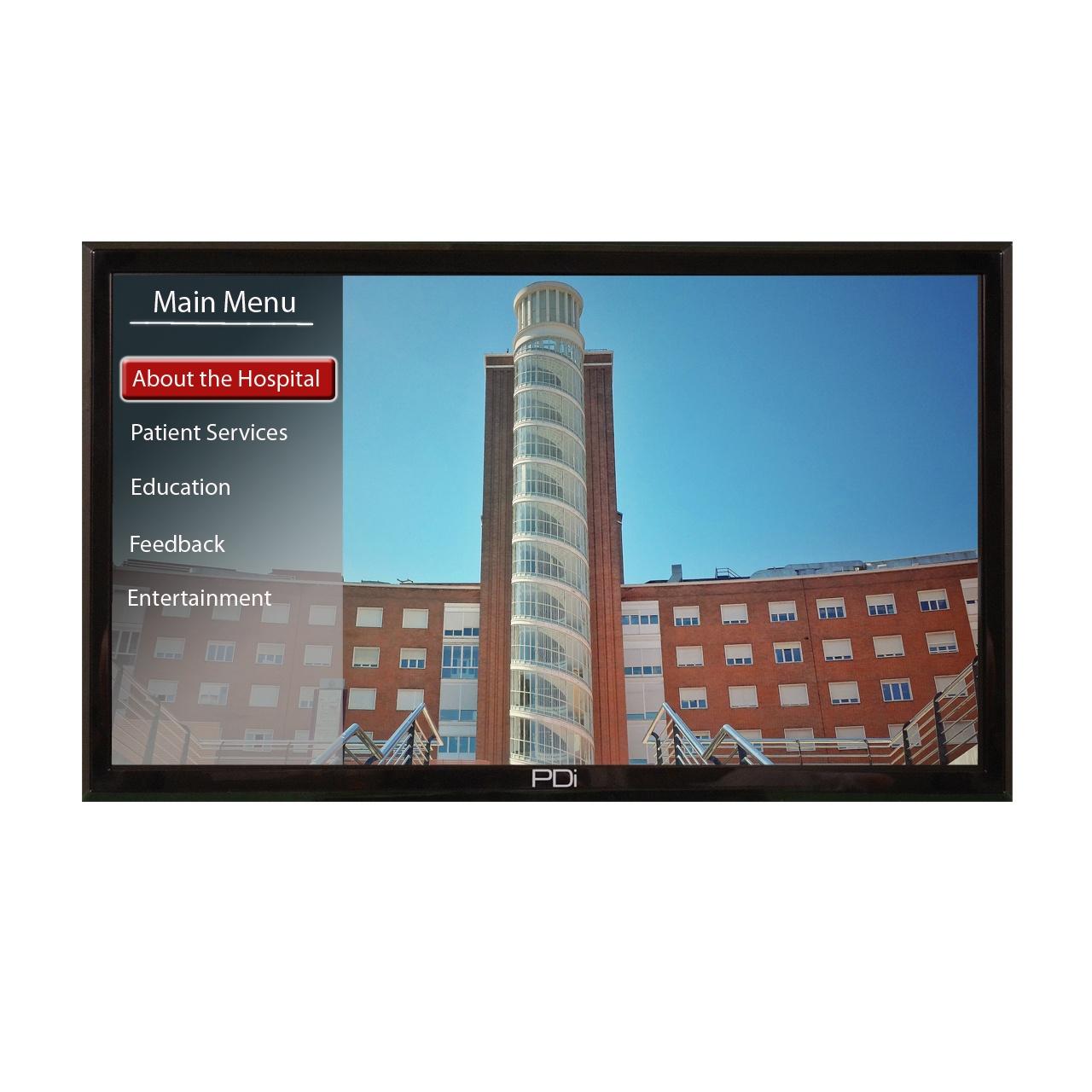 Large Screen Modular Healthcare TVs