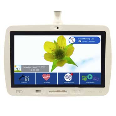 19in android-based touchscreen interactive patient system