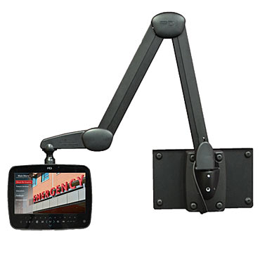 Swing-arm Healthcare Tablet and TV Systems