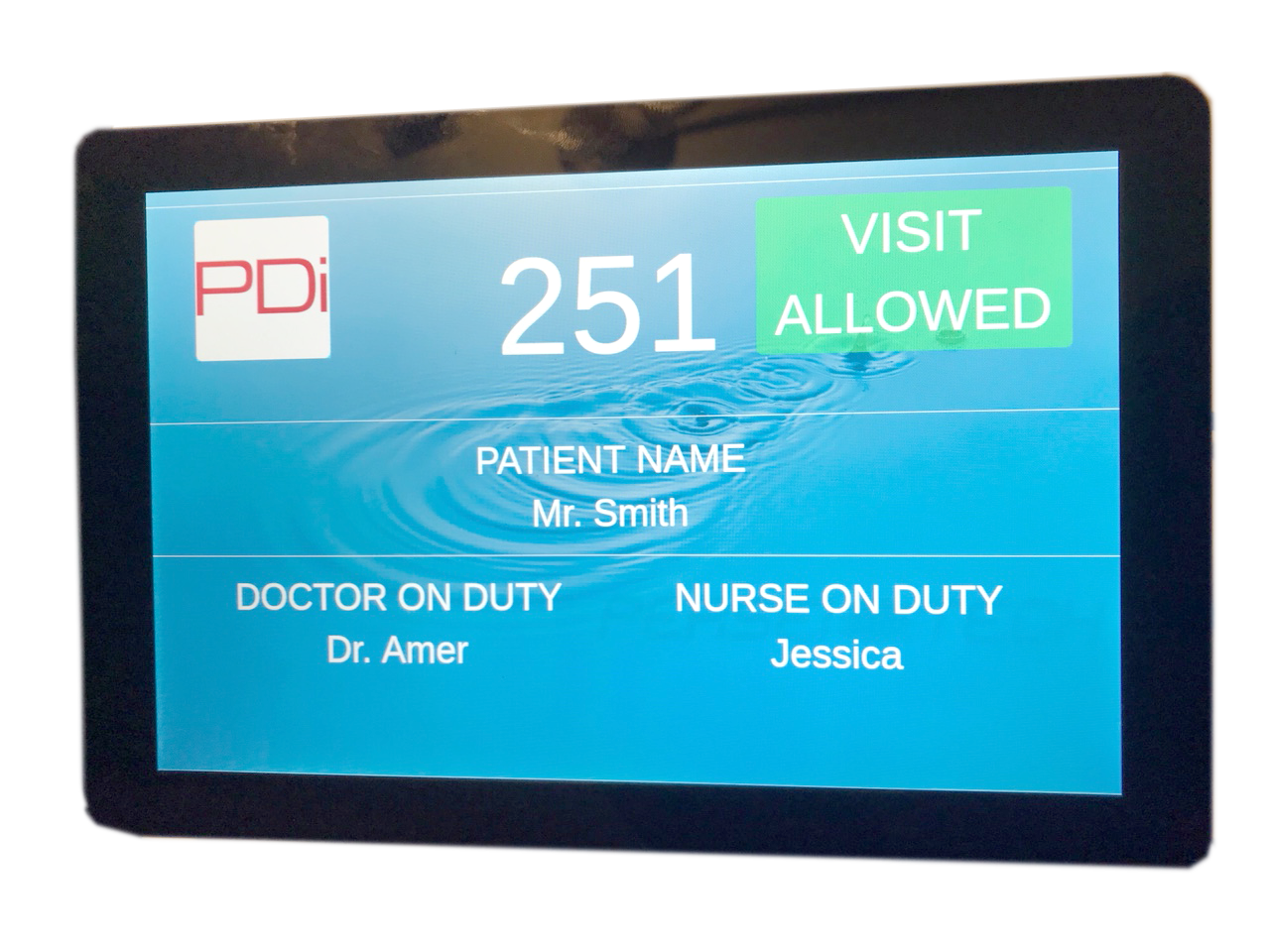 T-Series 10-inch Healthcare Tablet with Wall Enclosure