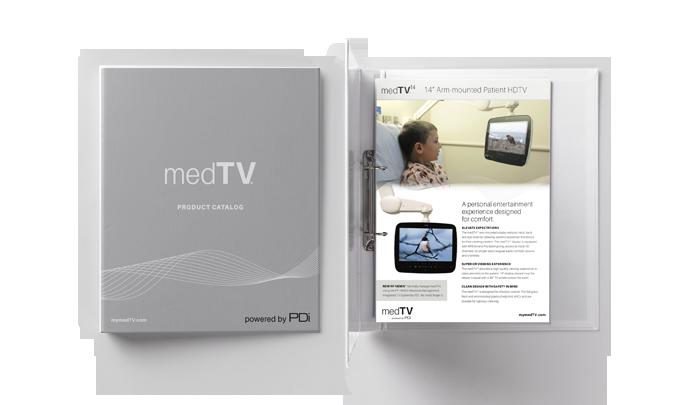 SMALLmedTV Catalog Binder-Stationery-Brand-Mockup