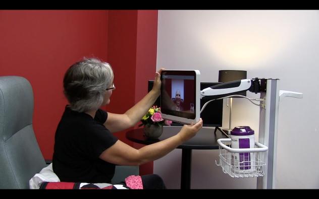 Video Call on PDi Telehealth Cart System