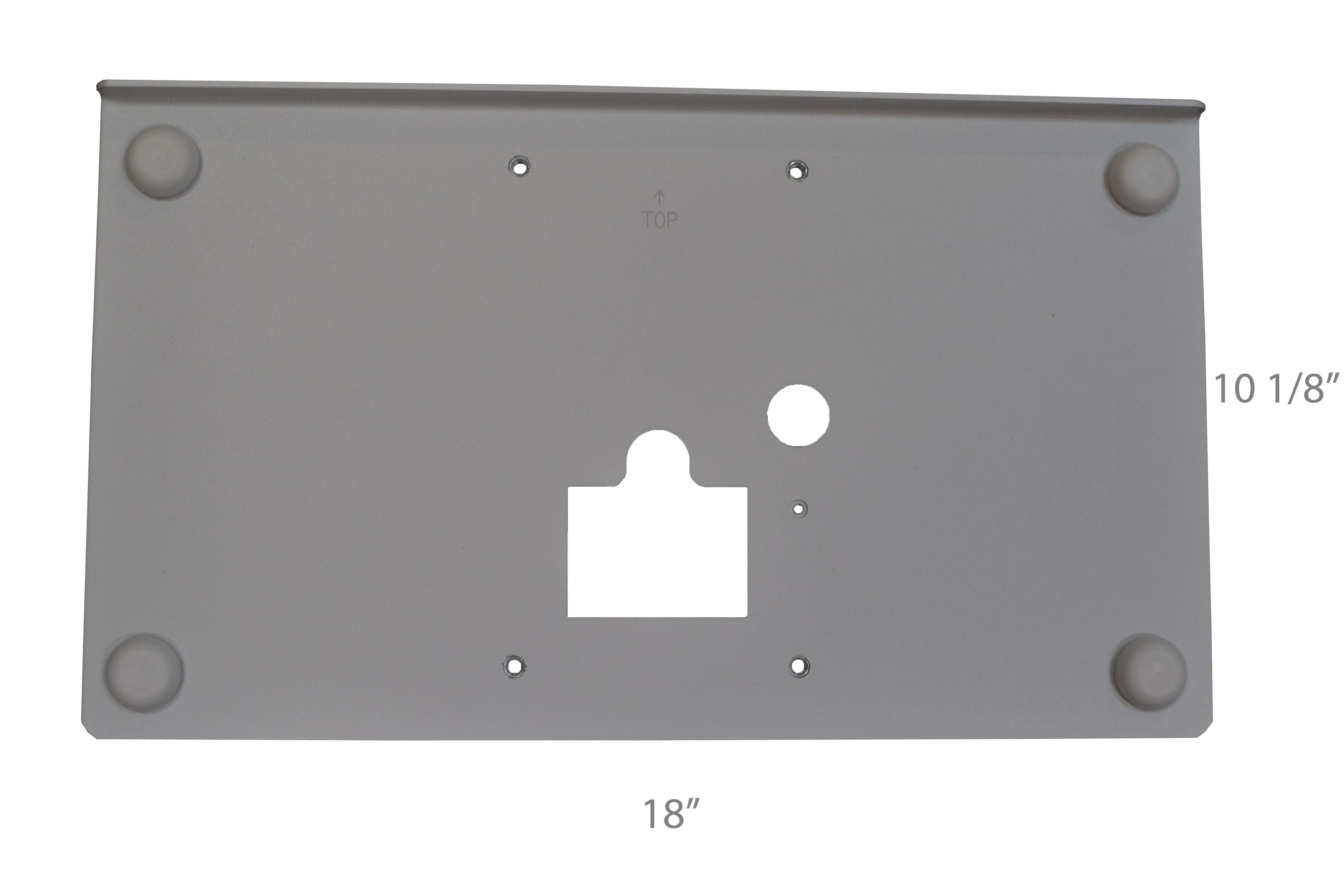 External Mounting Plate, 16