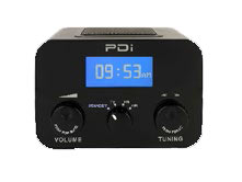 PDi-Qube Table Radio introduced.