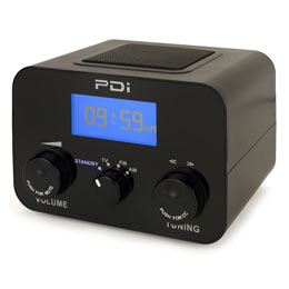 PDi-QUBE Table Radio