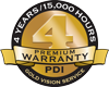 Gold Vision Service Warranty