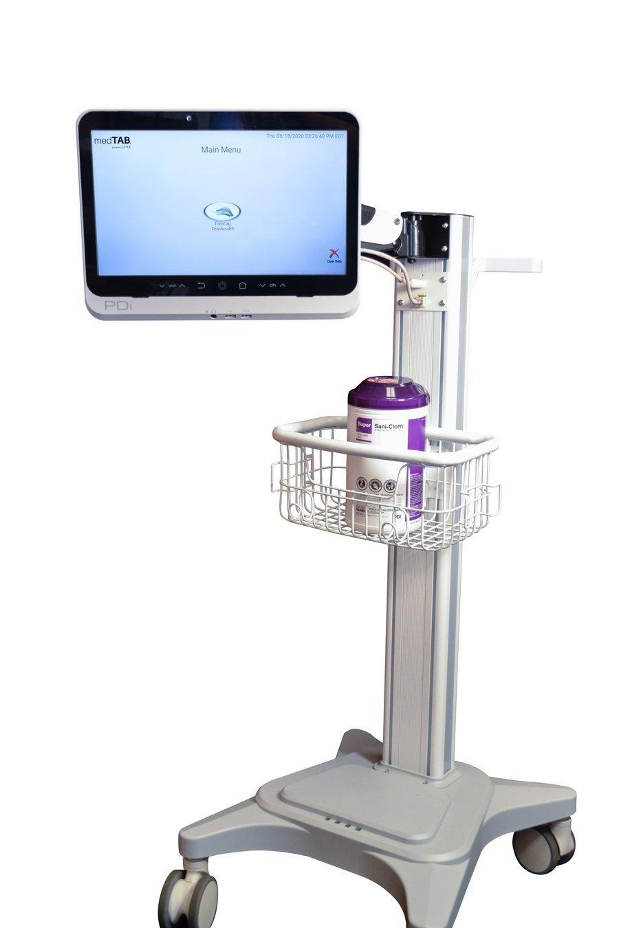 Telehealth Cart with Teleray